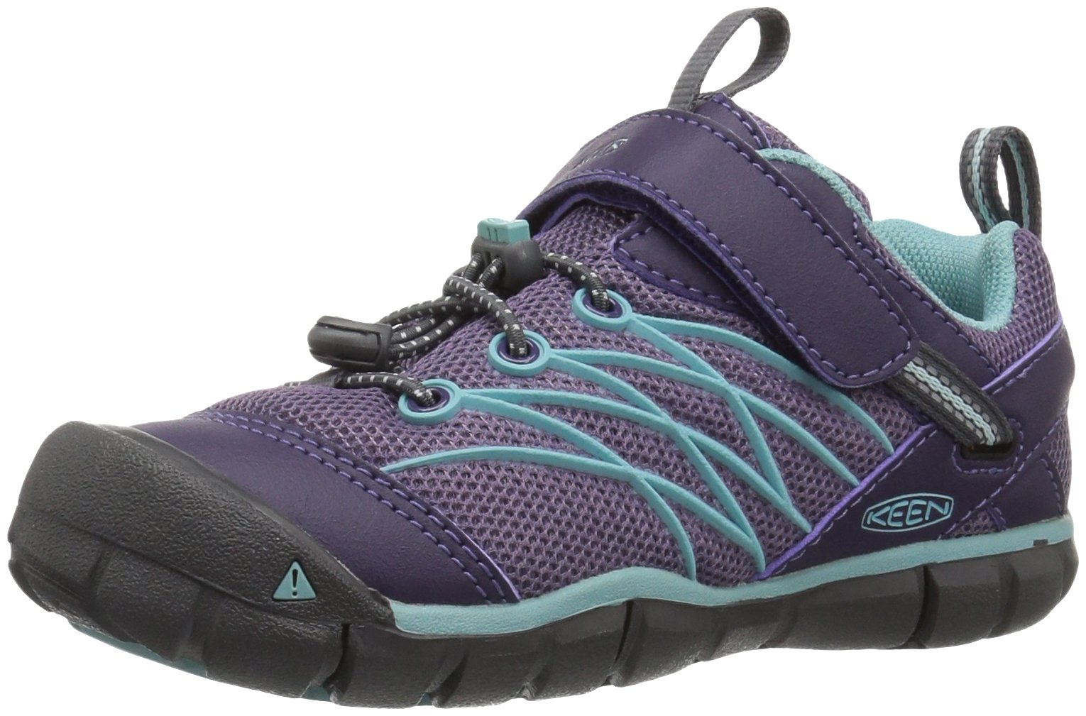 f1e3fa2e9f1 Galleon - Keen Kids' Chandler Cnx Hiking Shoe, Montana Grape/Aqua Haze, 6  Youth US Big Kid