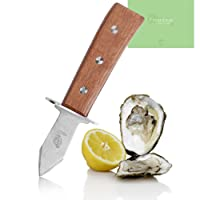 Freshlove Oyster Knife - Premium Quality Pakka Wood-handle Oyster Shucking Knife (24 x 17.5 x 5.5)