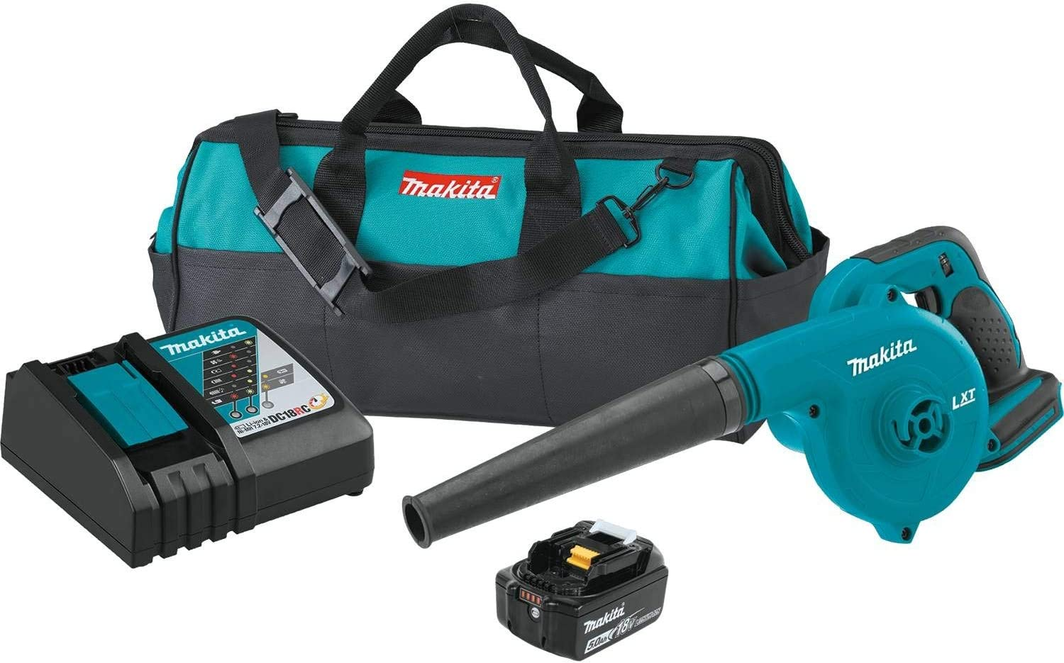 Makita DUB182T1 18V LXT Lithium-Ion Cordless Blower Kit 5.0Ah