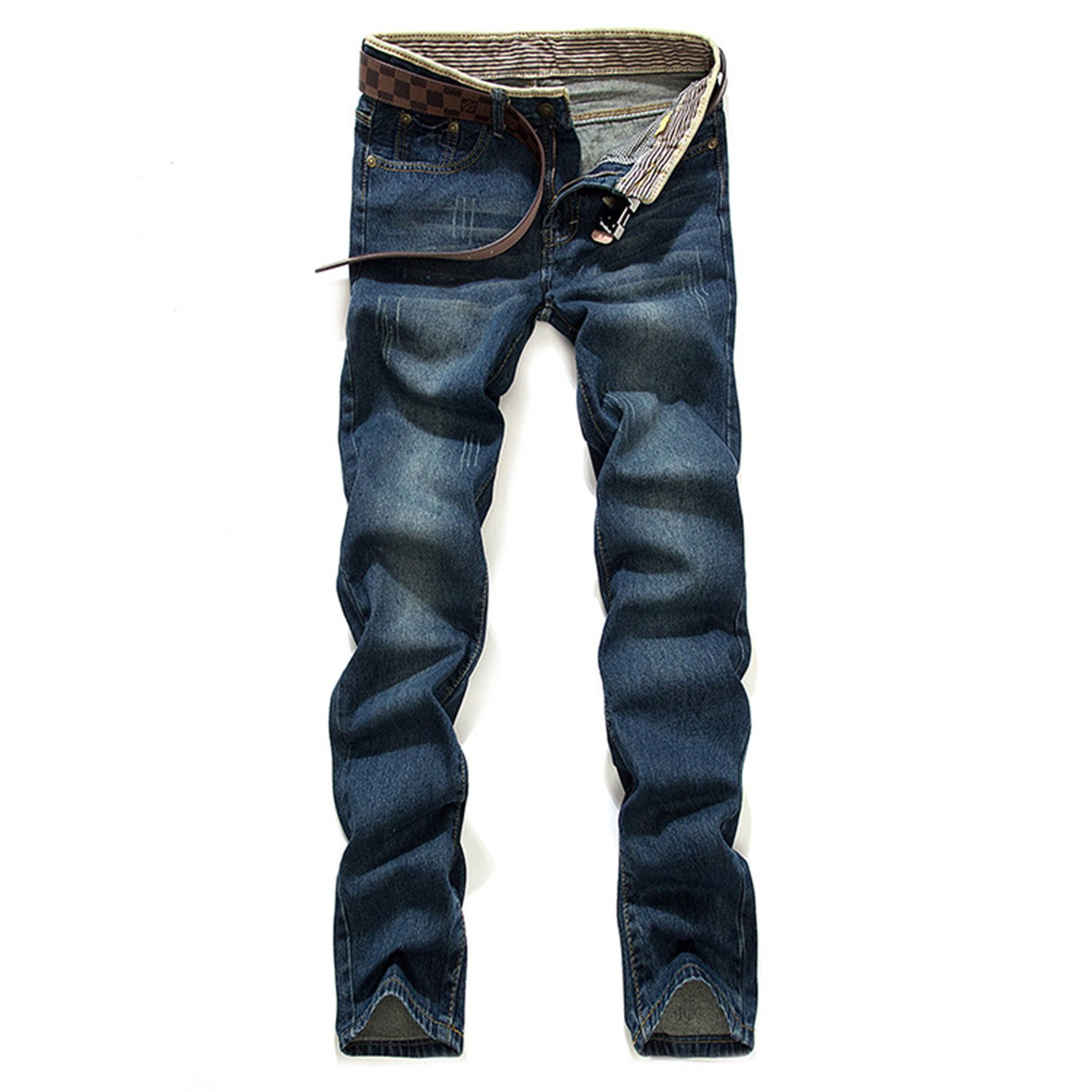 Phillip Dudley New 2018 Male Fine Cotton Fashion Leisure Blue Jeans Male Straight High-Grade Quality Casual Jeans Mens Pants