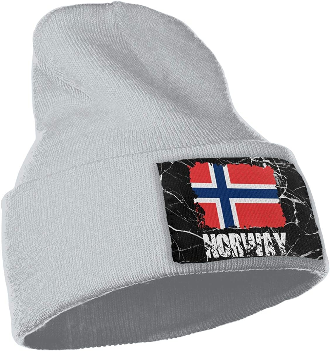 Norway Flag Beanie Cap Hat Men /& Women Knit Hats Stretchy /& Soft Beanie