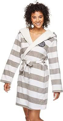 U.S. Polo Assn. Womens Plush Super Soft and Warm Fleece Bath Robe