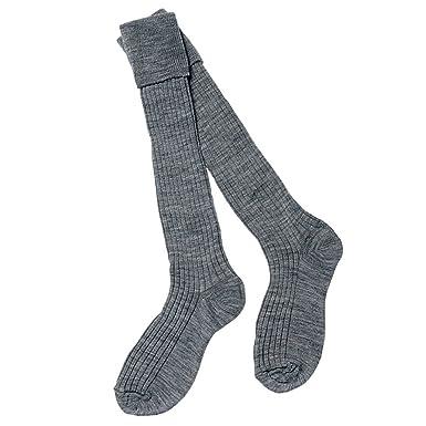 96ebb6eda5637 School Uniform Boys Grey 3/4 Turnover Top Ribbed Socks (3 Pairs per Pack):  Amazon.co.uk: Clothing