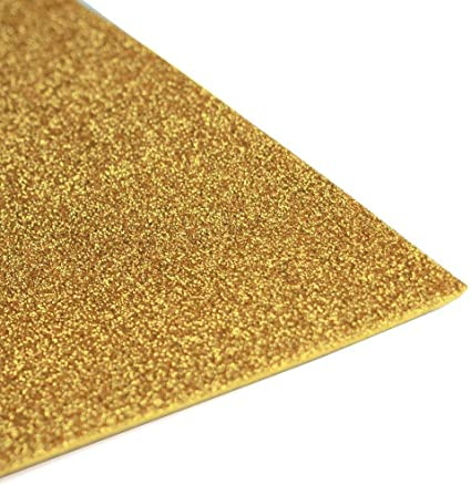 Amazon Com Eva Foam Sheets Reg Glitter Eva 12x18 10 Pc Kids Craft Arts Goma Glitter Gold Arts Crafts Sewing