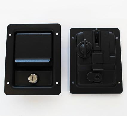 Par de piezas de microfibra - doble cerradura interior ...