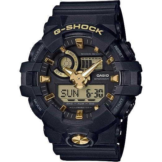 Casio Reloj Analógico-Digital para Hombre de Cuarzo con Correa en Resina GA-710B-1A9ER: Amazon.es: Relojes