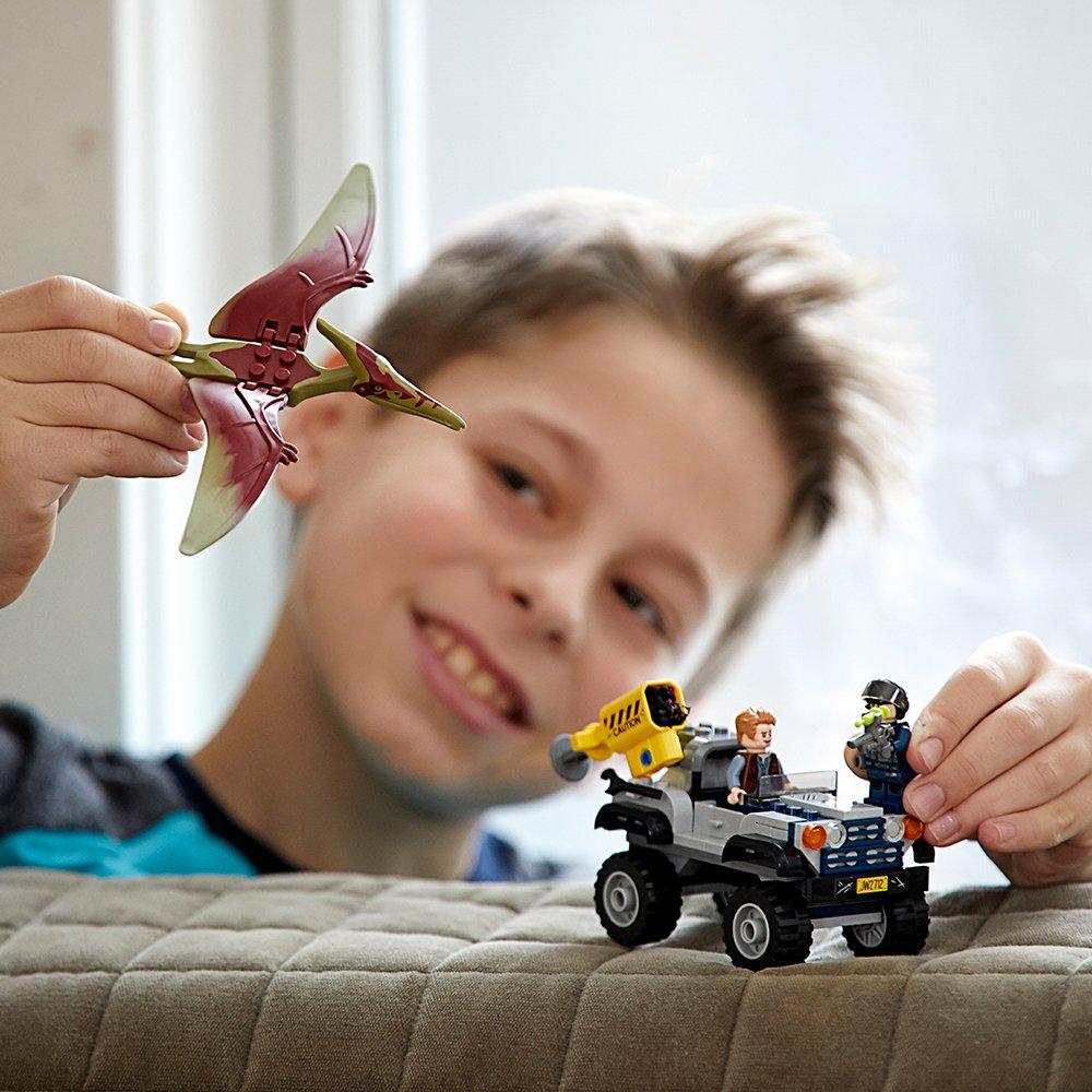 LEGO Jurassic World Pteranodon Chase 75926 Building Kit (126 Piece) by LEGO (Image #3)