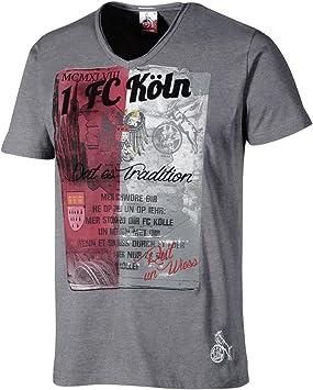 1 FC K/öln T-Shirt Hyazinthenweg Gr M-5XL