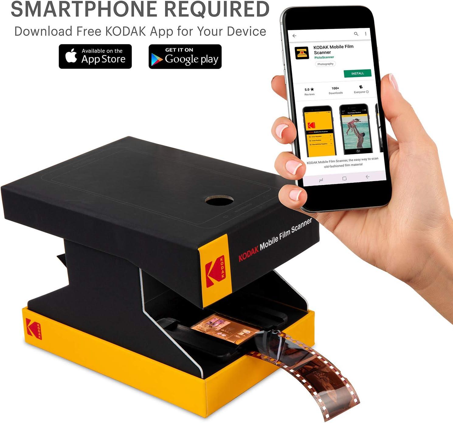 Escáner de película móvil KODAK: Amazon.es: Electrónica