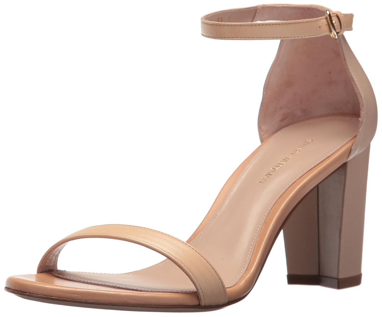 Stuart Weitzman Women's Nearlynude Heeled Sandal B072KLNRR9 8.5 B(M) US|Naked Combo