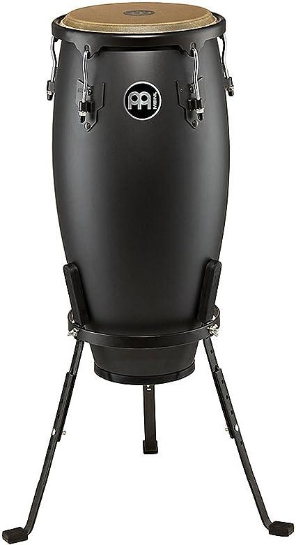 Meinl Percussion HC12PBK-M Headliner Designer Series 12-Inch Conga with Basket Stand Phantom Black