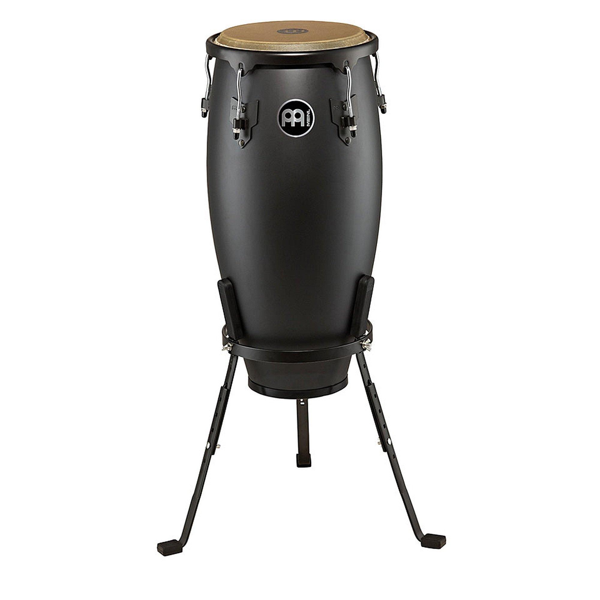 Meinl Percussion HC11PBK-M Headliner Designer Series 11-Inch Quinto with Basket Stand, Phantom Black