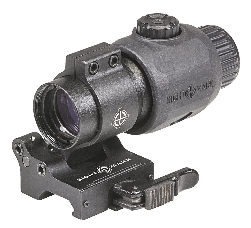 Sightmark SM19061 XT-3 Tactical Magnifier with LQD Flip Mount (Renewed)