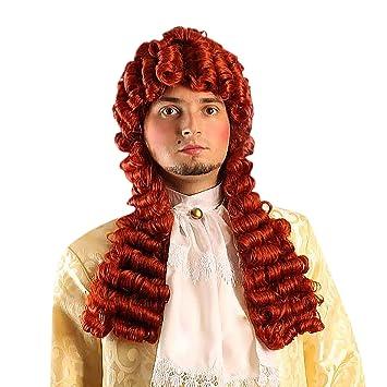 Perruque Louis XIV Roi-Soleil accessoire