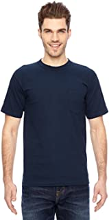 product image for Bayside BA7100 Basic Pocket T-Shirt - Navy - 4XL