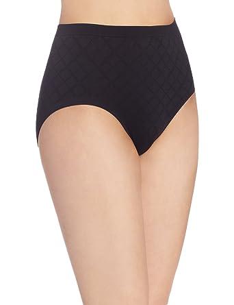 daaae9b5e36 Bali Women's Microfiber Pattern Brief Panty at Amazon Women's Clothing  store: Briefs Underwear