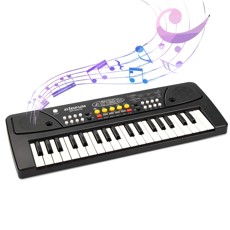 Chargable Piano para niños, jinruche 37 teclas Multifunktions carga electrónica Piano Teclado pädago gisches juguete Órgano para niños con micrófono, ...