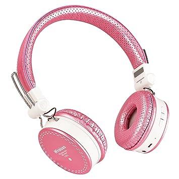 Votones Auriculares inalámbricos para niños Adultos Auriculares inalámbricos / con cable para auriculares estéreo Over-