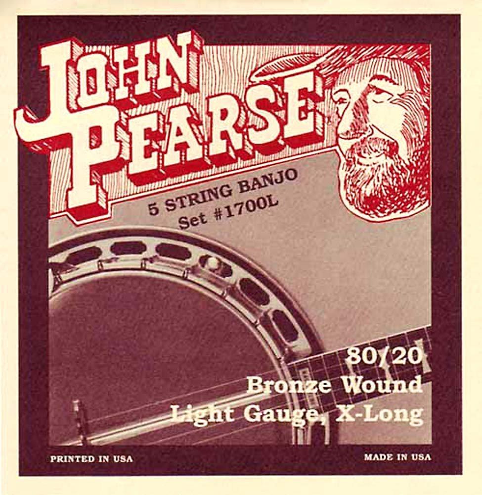Juego de cuerdas para banyo tenor John Pearse 2020H