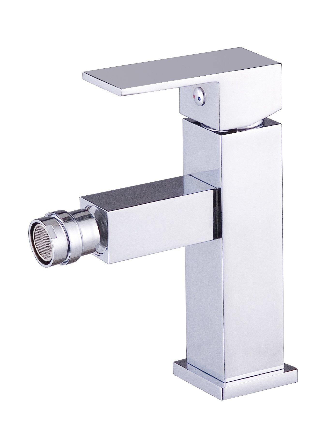 DP Bath SAR-0002''Arce'' Bidet Mixer Tap - Chrome by DP Bath
