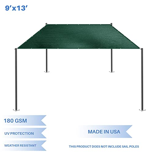 E K Sunrise 9 x 13 Sun Shade Sail