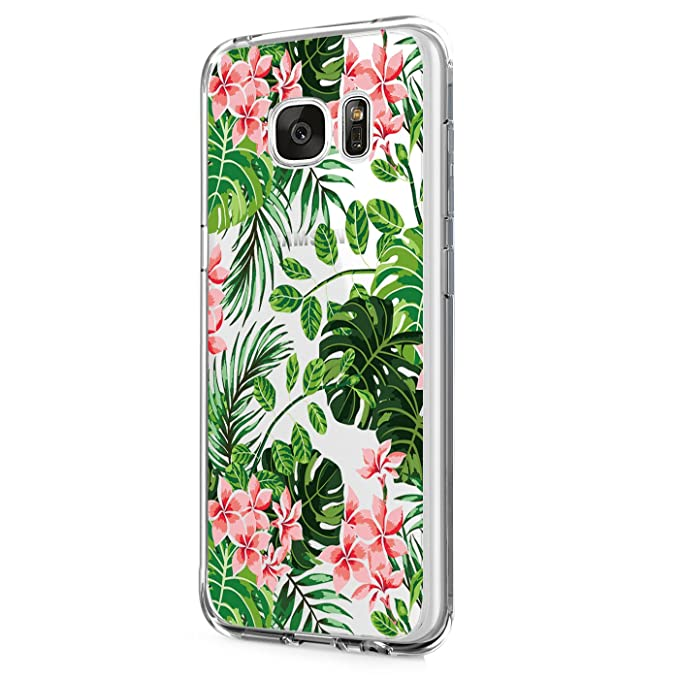 Amazon.com: Funda para Galaxy S6 Edge Plus, diseño de flores ...