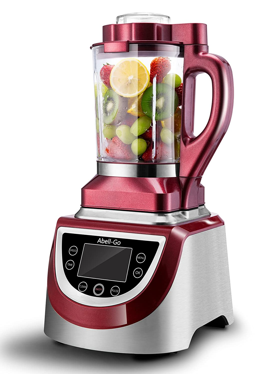 Professional & Commercial Smoothie Blender by Abell-Go-60-Ounce BPA-Free Cup - 8 Speeds - Heavy Duty Food Processor for Ice, Soup, Mincemeat, Nut Butter Etc