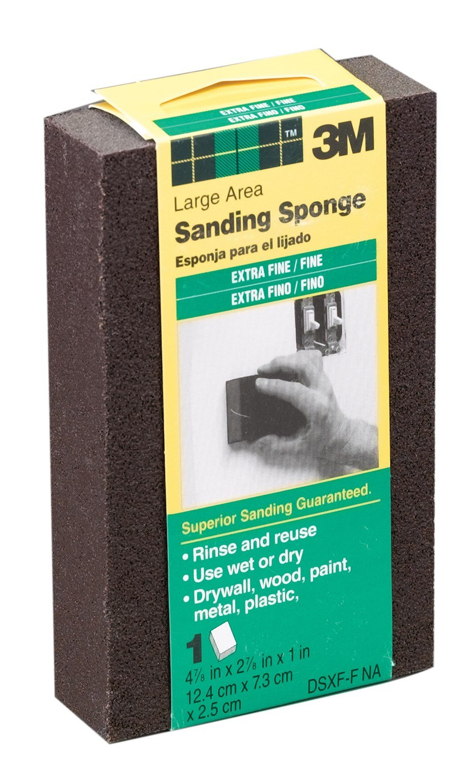 3M DSXF-F Extra Fine To Fine Large Area Sanding Sponges by 3M (Image #1)