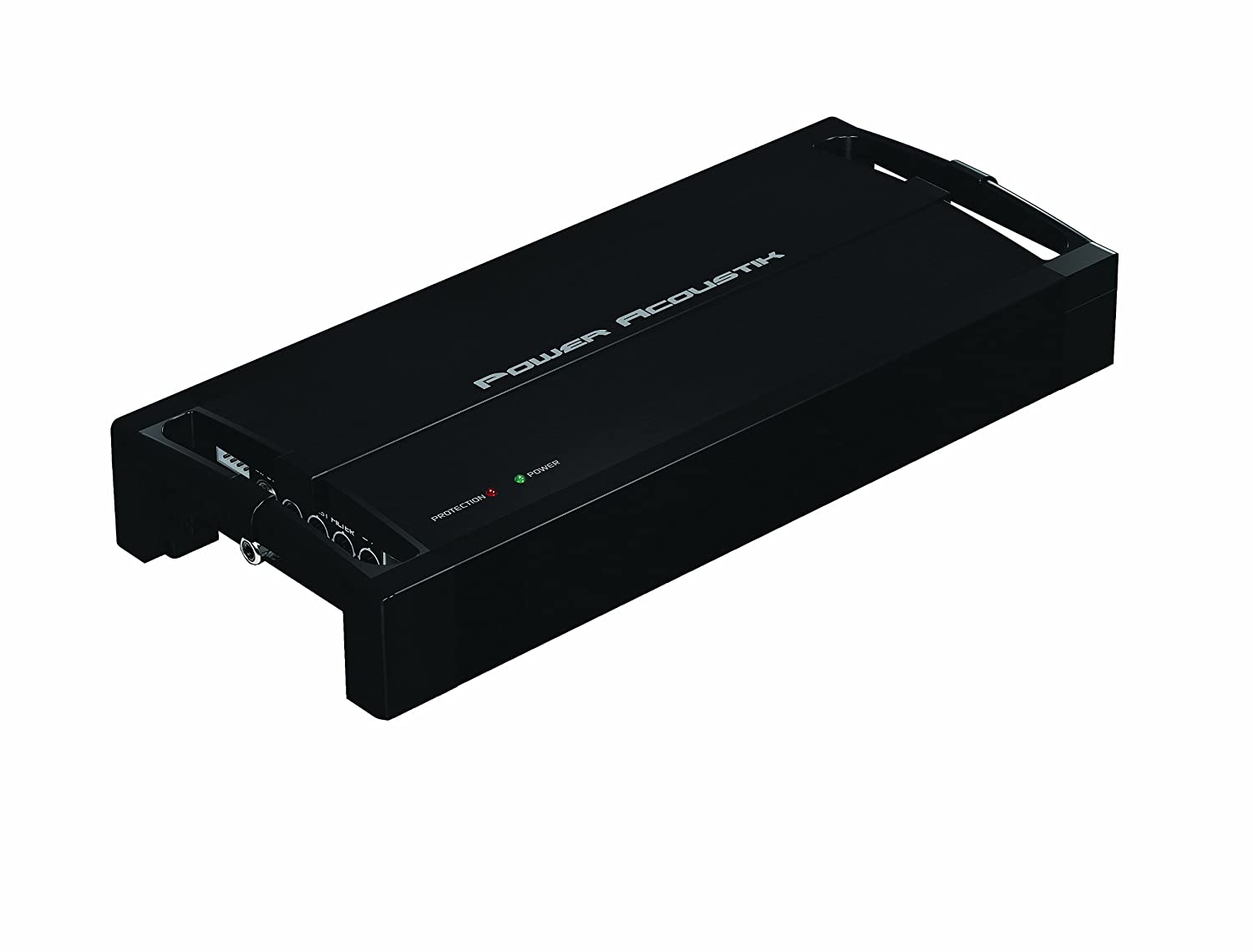 POWER ACOUSTIK RZ1-2300D RAZOR Nano 1 Channel Mono 2300 Watt Amplifier (Black)