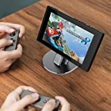 Nintendo Switch Charging Dock, Aluminum Sync & Fast Charge USB Type C Desktop Charging Stand Holder Cradle Station for Samsung Galaxy S8/ S8+, Google Nexus 6P/5X/Pixel XL, LG G6/G5, Huawei P9 P10