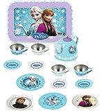 Smoby Frozen Tin Tea Set, Multi Color