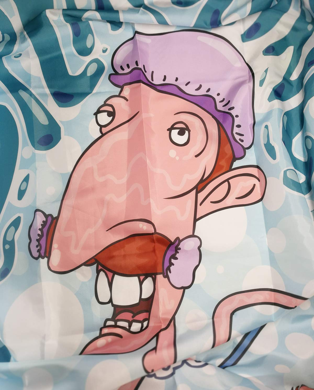 Shower Curtain Nigel Thornberry Custom Durable Fabric Jpg 1200x1490 Splashing