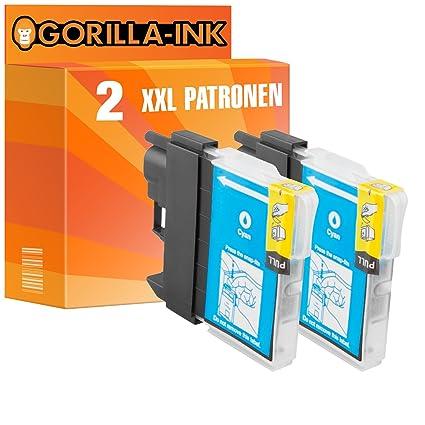 Gorilla de Ink® 2 x Cartuchos de Tinta XXL compatible para ...