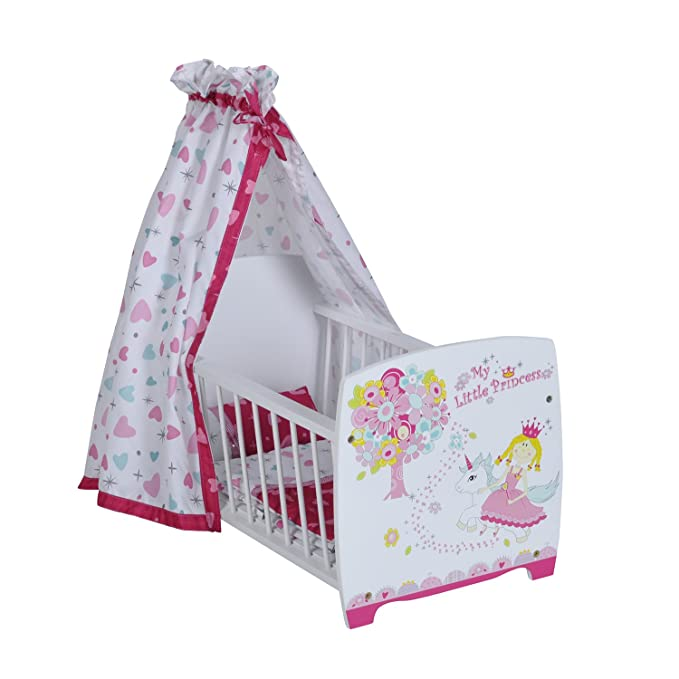 Knorr KNORRTOYS.COM 67207 My Little Princess - Cuna para muñeca con Dosel