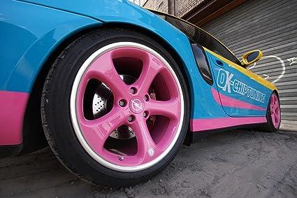 Clásico y músculo anuncios de coche y COCHE arte OK Chip Tuning manta-Porsche 996