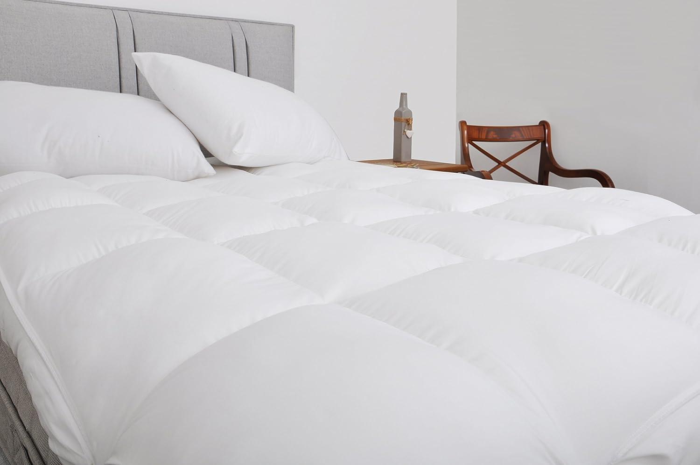 Calidad del hotel 10 cm (4 pulgadas) espesor de espesor colchón, (Segundos de la fábrica) Doble: Amazon.es: Hogar