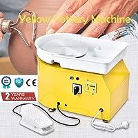 4YANG Rueda de cerámica eléctrica, 25 CM 350