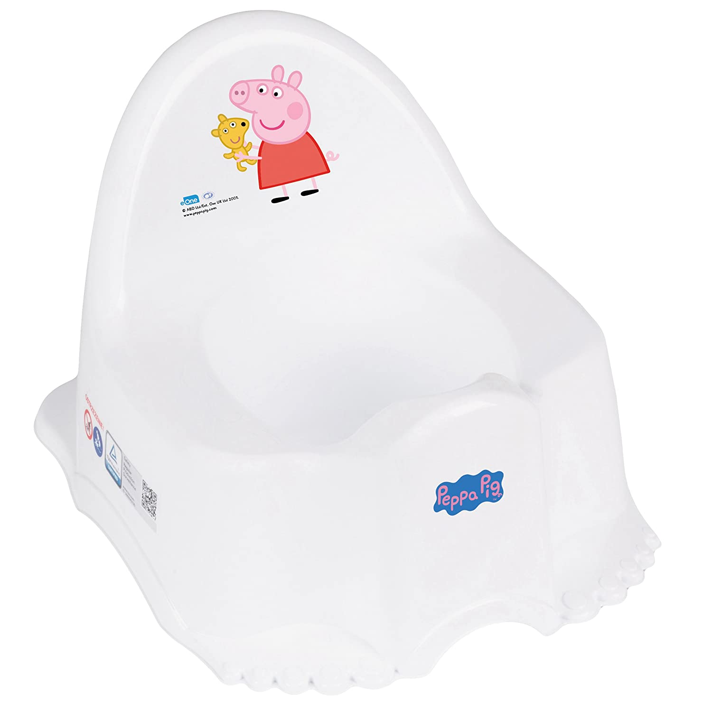 Musical Non-Slip Potty Colourful Design - Peppa Pig (Blue) Tega Baby PO-046