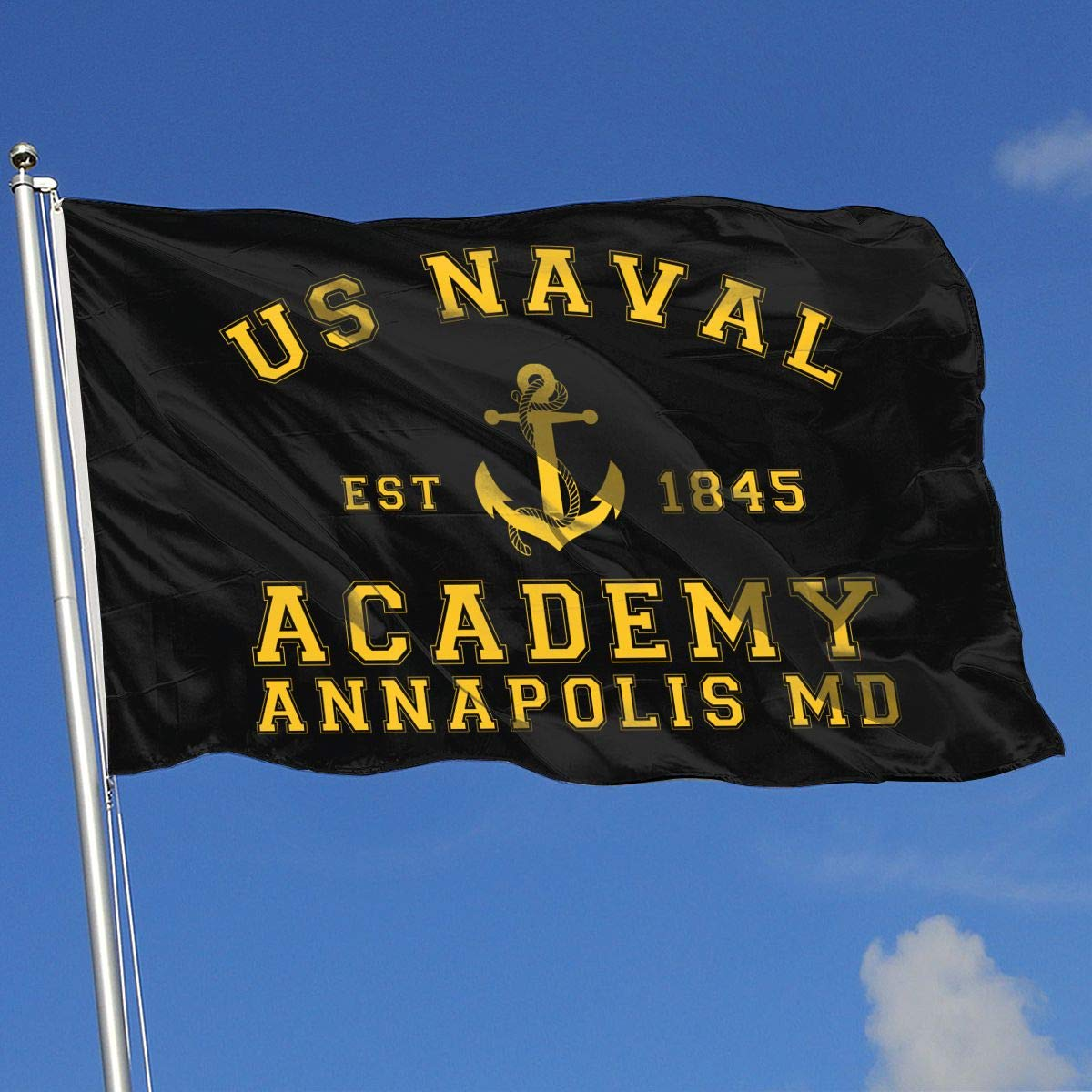 Amazon.com: US Naval Academy Flags 3x5 Foot Banner 3 X 5 Ft ...