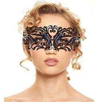 Mascara Facial Careta Protector de Cara dominó Frente Falso Máscaras para Hombres y Mujeres Media Cara