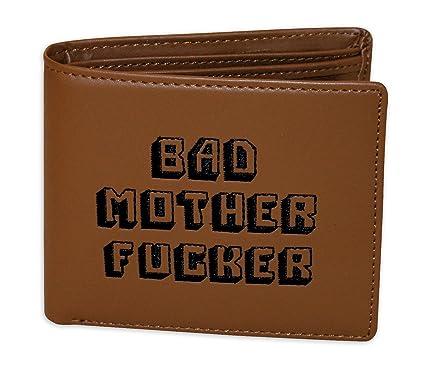 Gizzys/Unidos Entretenimiento Bad Bad Mother Cartera, Color marrón