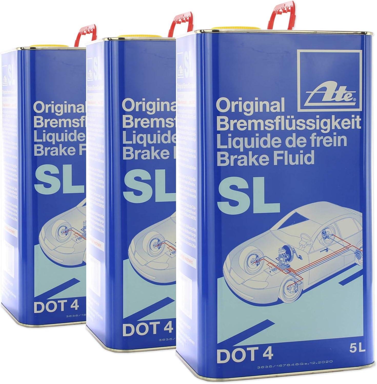 Ate 03 9901 5803 2 Original Brake Fluid Sl Dot4 5 Litres Auto