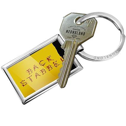 Amazon.com  NEONBLOND Keychain Back Stabber Blood Splatter Kill Bill   Automotive cacf03e9ed2f
