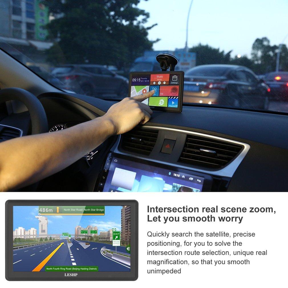 Navegador GPS, LESHP sistema de navegación GPS de coche, 5 pulgadas, tarjeta de Europa de 45 países.: Amazon.es: Electrónica