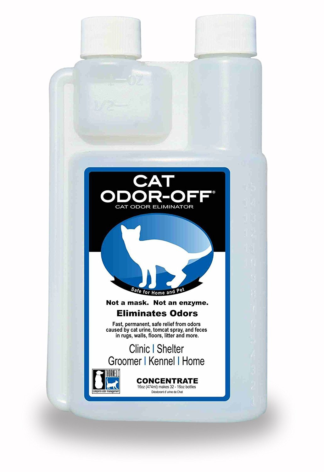 THORNELL. Cat-Odor-Off Concentrate, 16-Ounce by THORNELL.