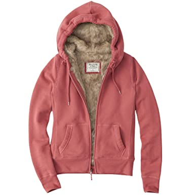 Abercrombie & Fitch -Sudadera Mujer coral 44