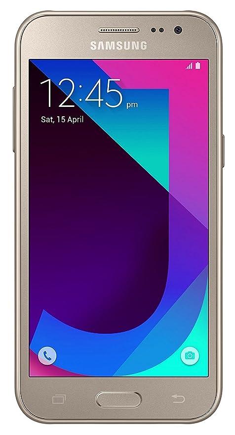 SAMSUNG Mobile Galaxy J2 (SM-J200) 4G VoLTE (Gold)