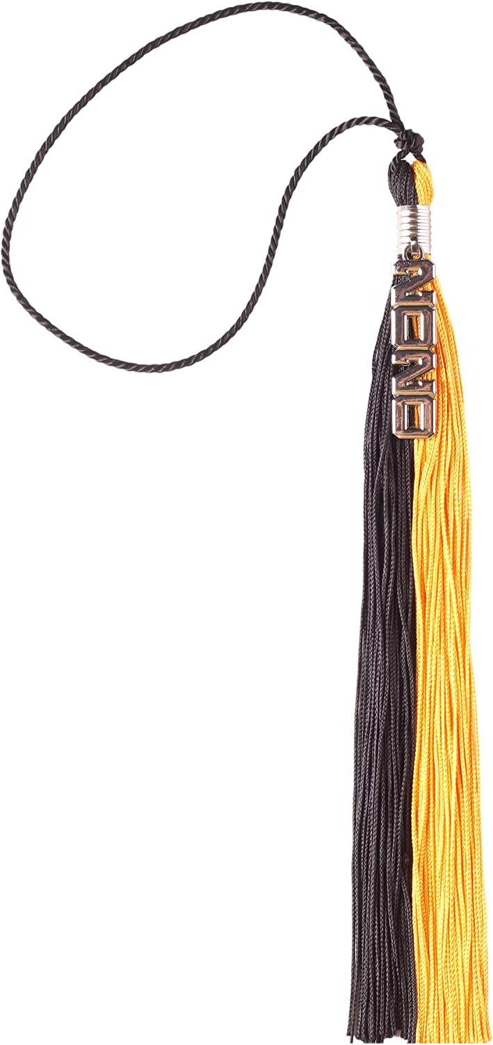 UIALECG Two-Colored Graduation Tassel with Silver 2020 Year Charm