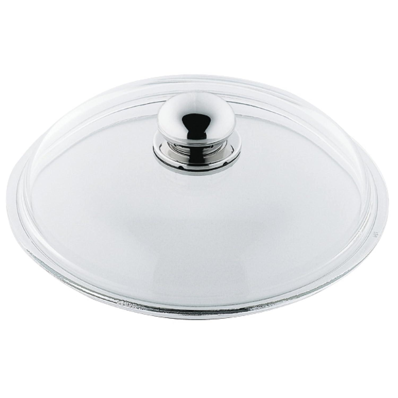 Silit 092247 - Tapa de cristal para sartenes y fuentes (20 cm, con pomo metálico): Silit: Amazon.es: Hogar