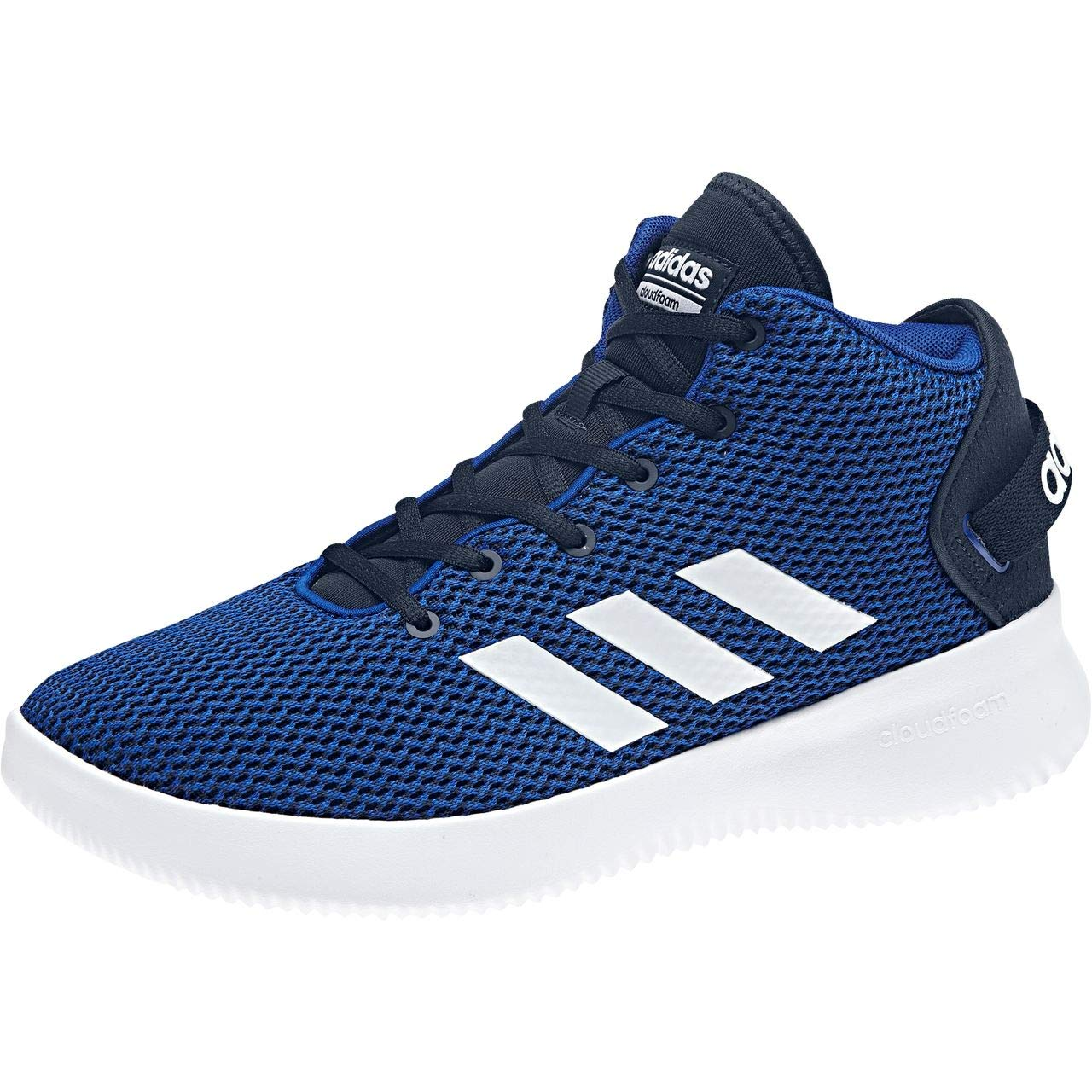 Bleu (Collegiate Navy Footwear blanc Collegiate Royal) adidas Cloudfoam Refresh Mid, Baskets Hautes Homme 44 2 3 EU
